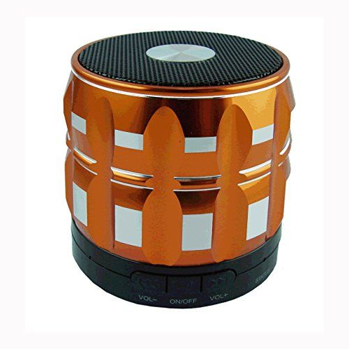 Shrox BTSSFOA Mini Portable Shrox Bluetooth Speaker Powerful Loud and Clear Sounds with Bass Orange >>> Visit the affiliate link Amazon.com on image for more details.