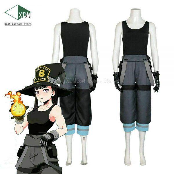 Halloween In Tokyo 2020 Fire Fire Force Cosplay Maki Oze   MyAnime2go in 2020 | Halloween