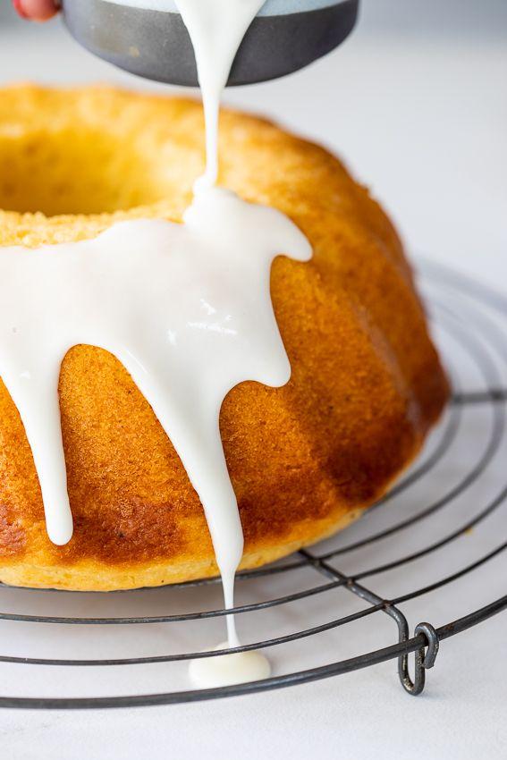 Sour Cream Lemon Cake Recipe Lemon Dessert Recipes