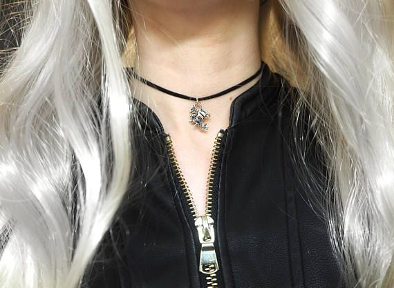Daenarys Black Suede Choker with Dragon Charm Pendant. Shop here: https://www.etsy.com/uk/shop/DontChoke #chokers #necklace #jewellery #jewelry #suede #velvet #black #cord #style #stylish #fashion #fashionable #trend #charm #handmade #silver #dragon #daenarys #targaryen #mother #dragons #motherofdragons #fire #gameofthrones #game #thrones #GoT #fantasy #halloween #costume #accessory