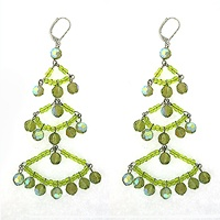 $18.00  Earrings -   Stone: Swarovski Crystal  Plating: Antique Silver  www.moochandco.com