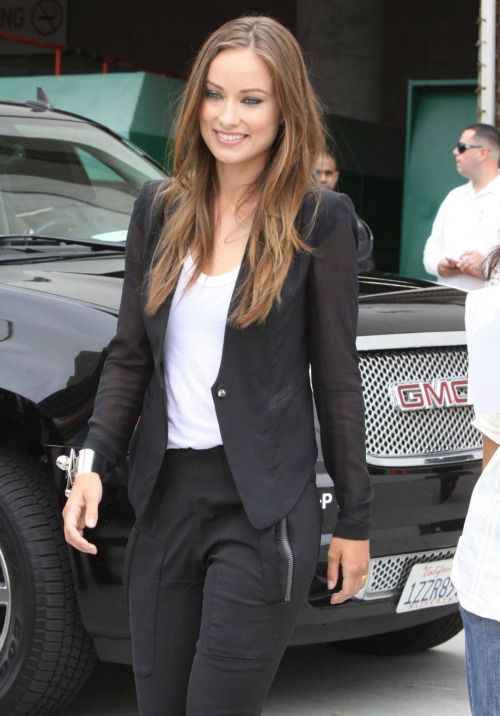 Olivia Wilde business style