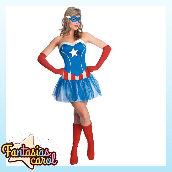 Lançamento Exclusivo para Clientes FantasiasCarol! Fantasia Capitão América Feminina Adulto Original Importado por apenas...   Confira -> https://www.fantasiascarol.com.br/prod,idloja,25984,idproduto,5222168,festa-a-fantasia-adulto-fantasia-feminina-adulto-fantasia-capitao-america-feminina-adulto-original-importado