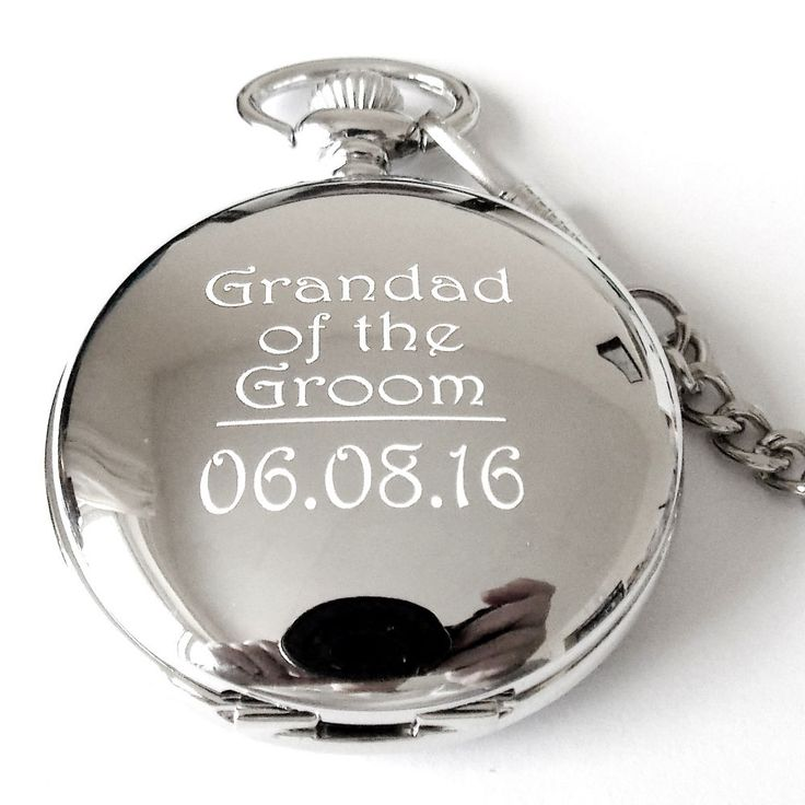 #Engraved pocket #watch father of the bride groom usher #wedding gift w5a,  View more on the LINK: 	http://www.zeppy.io/product/gb/2/152200568665/