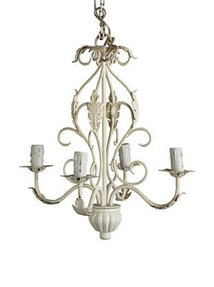 -19,900% OFF Better Living Rampur Iron Chandelier, Liquid White