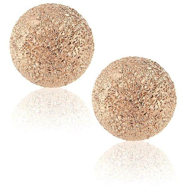 Carolina Bucci Rose Gold Mirador Earrings ($360) ❤ liked on Polyvore featuring jewelry, earrings, accessories, brincos, bijoux, rose gold, rose gold post earrings, rose gold jewellery, rose gold jewelry and carolina bucci