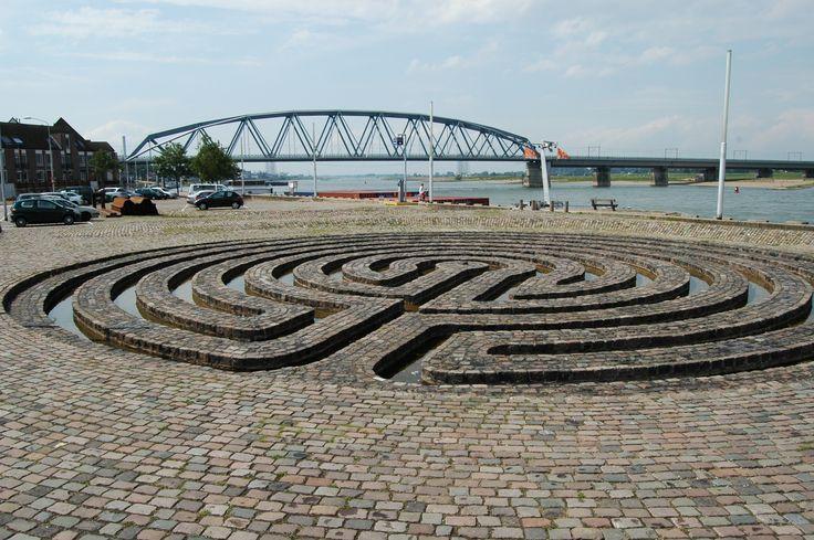 Wasserlabyrinth in Nijmegen