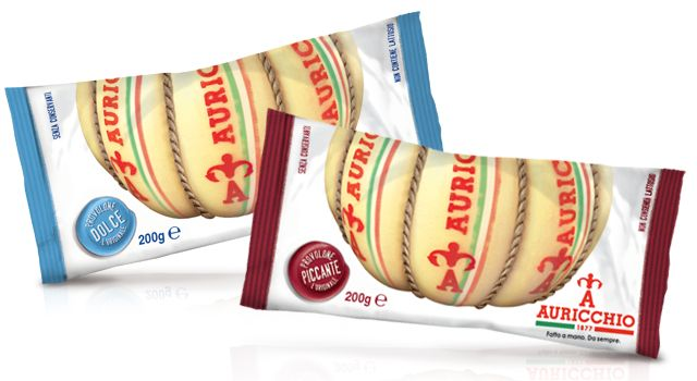 Mezzelune - Auricchio Restyling di Packaging In Italy, Packaging Funzionale, Packaging Italiano