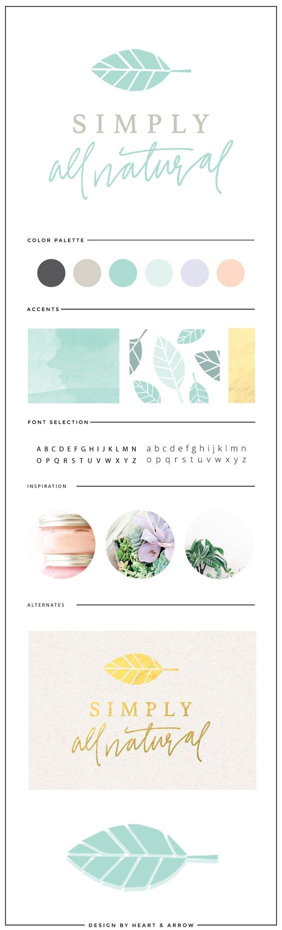 "Like the colors.  The ""all natural"" is an ok font, but I would like something a bit less sloppy still.  The image is simple and elegant, but all the fun is in the 2nd cursive font ................................................. DESIGN SITE."