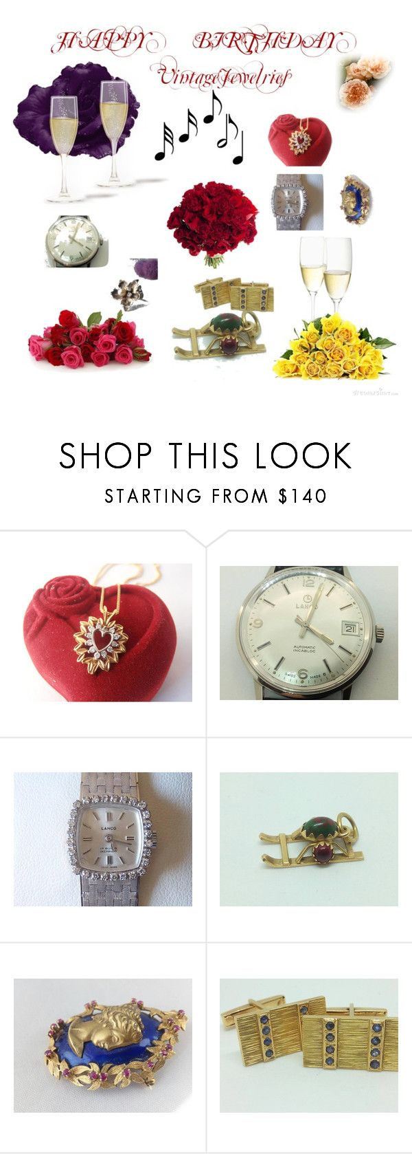 """""""Happy birthday Rita"""" by viyoli ❤ liked on Polyvore featuring Music Notes"""