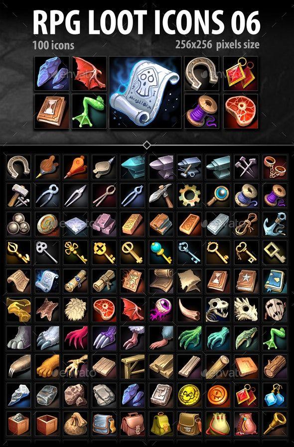RPG Loot Icons 06