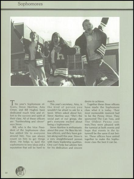 1992 Highland High School Yearbook via Classmates.com