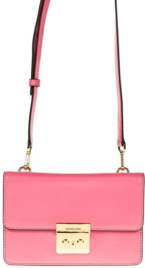 MICHAEL Michael Kors Clutch Sloan Smooth Leather
