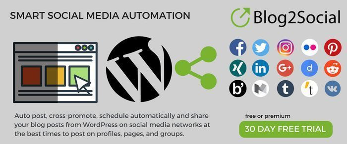 Schedule post to social media like Facebook, Auto post to Facebook, share blog p…
