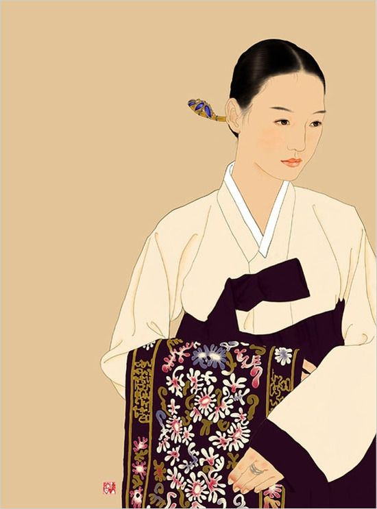 korean / by BootJil, 붓질. love this simple but beautiful painting for my home!