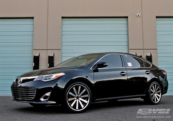 "2013 Toyota Avalon with 20"" Gianelle Wheels by Wheel Specialists, Inc. in Tempe AZ . Click to view more photos and mod info."