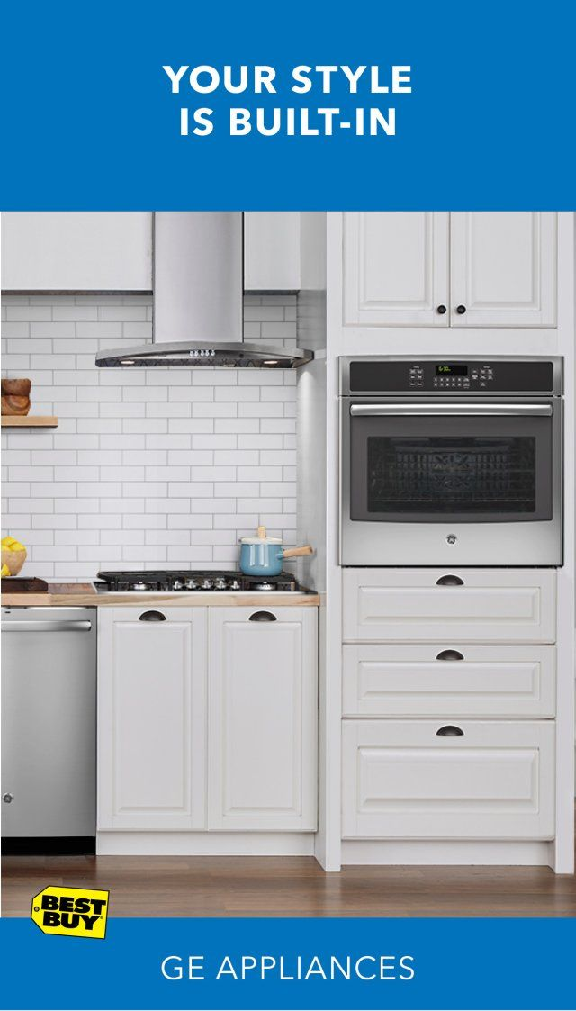 Built-in appliances are the hottest trend in kitchen design. GE offers great built-in options to maximize your space and create a sleek, seamless look in stainless steel. Consider a GE self-cleaning convection wall oven. Pair it with a new GE 5-burner gas cooktop with edge-to-edge grates. Both offer the latest in cooking performance. Plus, take advantage of our free in-home consultation services to bring your vision to life. Minimum savings 5%.