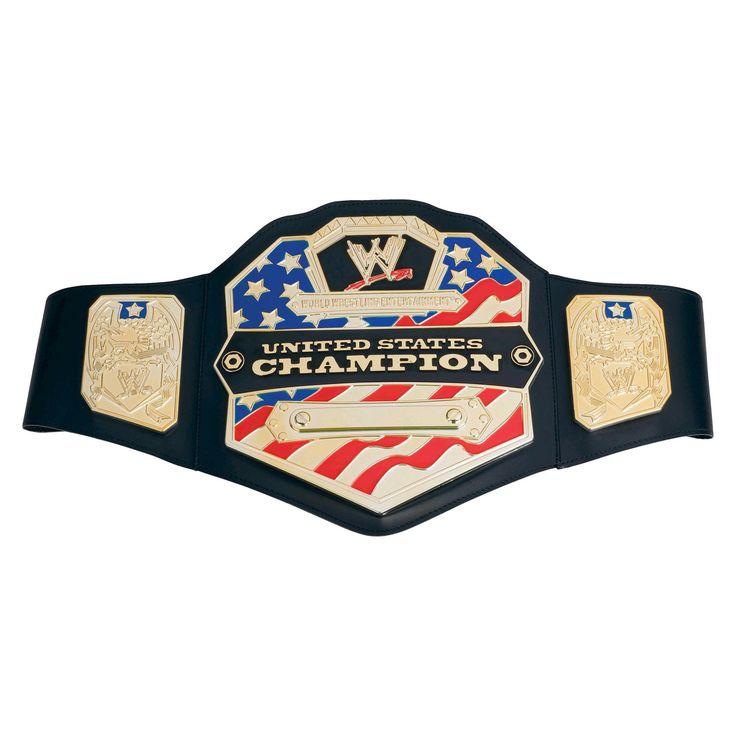 Wwe United States Championship Belt, Boy's, Size: Large, Grey
