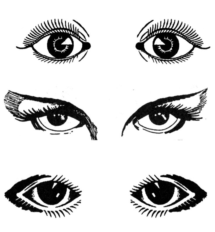 Eyes Black And White Cartoon Eye Clipart Black And White