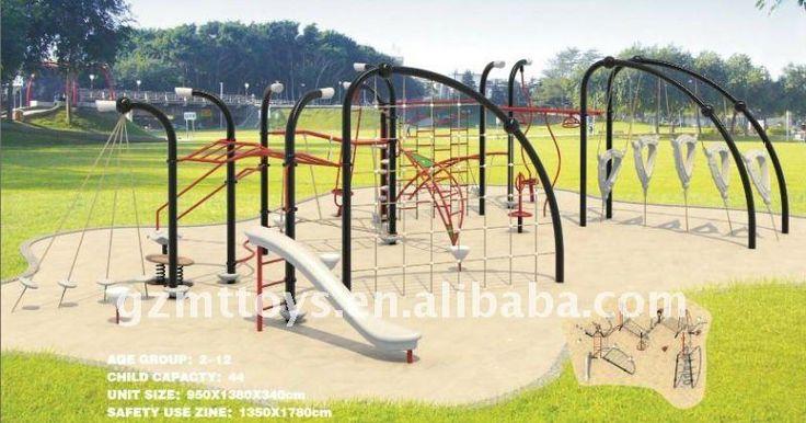 La pared de escalada- gimnasio al aire libre equipos mt-25102from guangzhou juguetes vaquero-Equipos Gimnasio-Identificación del producto:48...