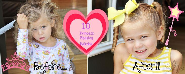 10 Hairdos That Will Please Your Princess | Burlington VT Moms Blog