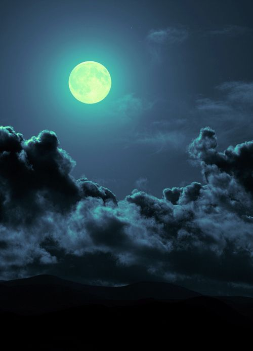 : Dark Night, Beautiful Moon, Beautiful Places, Full Moon, Blue Moon, Night Sky, Moon Lights, The Moon