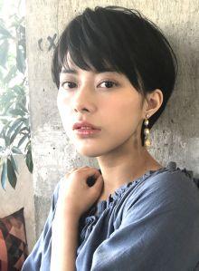 ☆カットで作る☆ツヤ感のある大人ショート|髪型・ヘアスタイル・ヘアカタログ|ビューティーナビ
