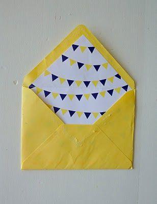 pendant envelope liner