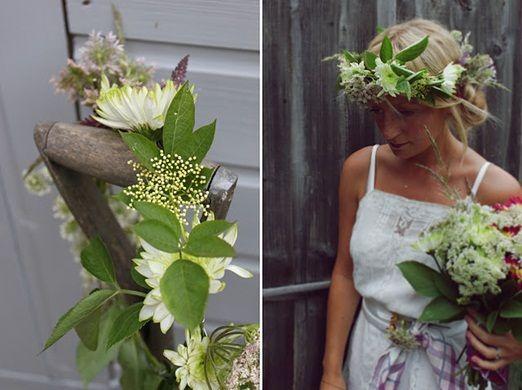 junkaholique floral crown tutorial