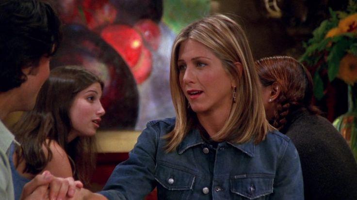 Friends season 8 Rachel Green hair @libbyyn #friends #rachelgreen #jenniferaniston