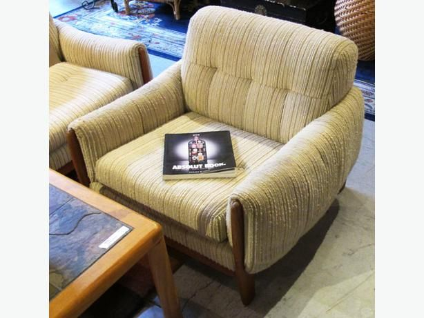 Mid Century Modern Teak Chair With Weave Cushions  I 48513  Barclay s  Exchange Auctioneers. 45 best Teak Furniture images on Pinterest   Teak furniture  Mid