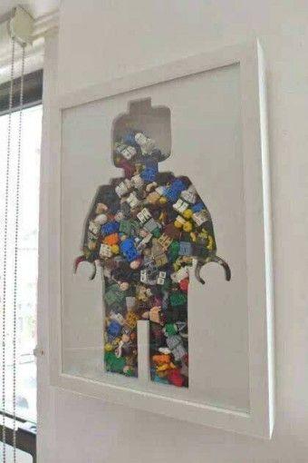Lego Storage Ideas - Lego Artwork