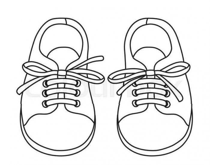 Free Girls Shoes Coloring Pages To Printable Coloring Girls Shoes For Kids To Print Free Pictures Coloring Pages For Girls Drawing For Kids Coloring Pages