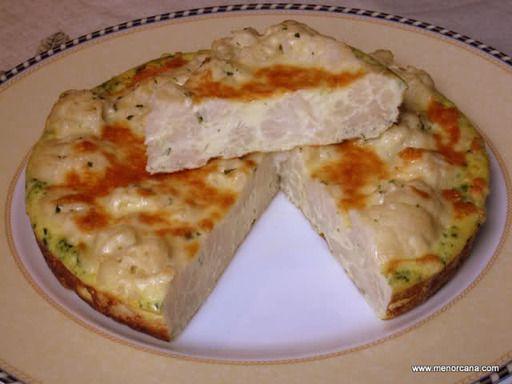 Receta tortilla de coliflor, nuestra receta tortilla de coliflor - Recetas enfemenino
