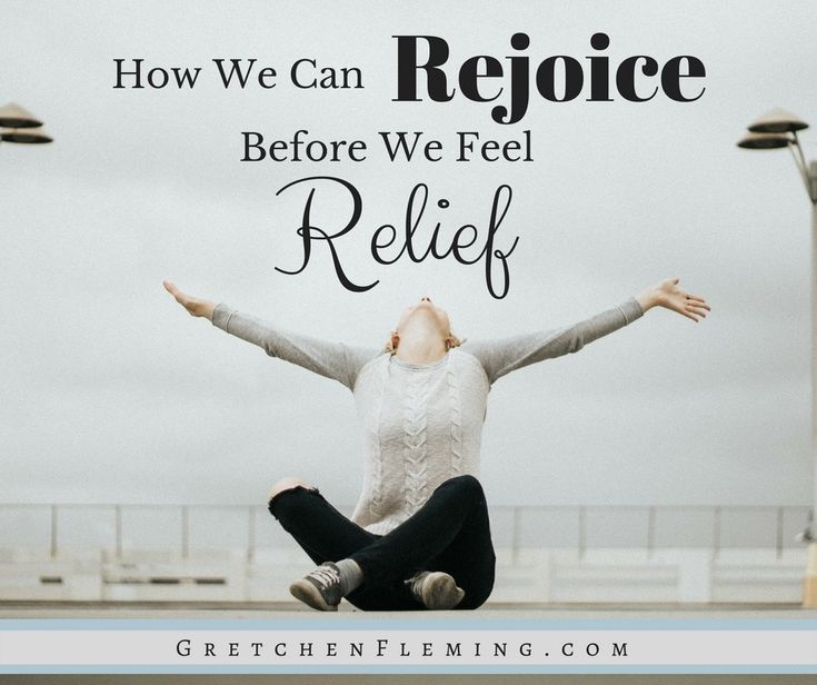 Isn't it hard to feel like rejoicing when you are experiencing a needy time in your life? Learn 2 truths that make you feel like rejoicing no matter what! #rejoice #relief