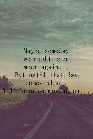 Move On - Kodaline quotes