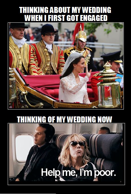 WEDDING MEME. BROKE.