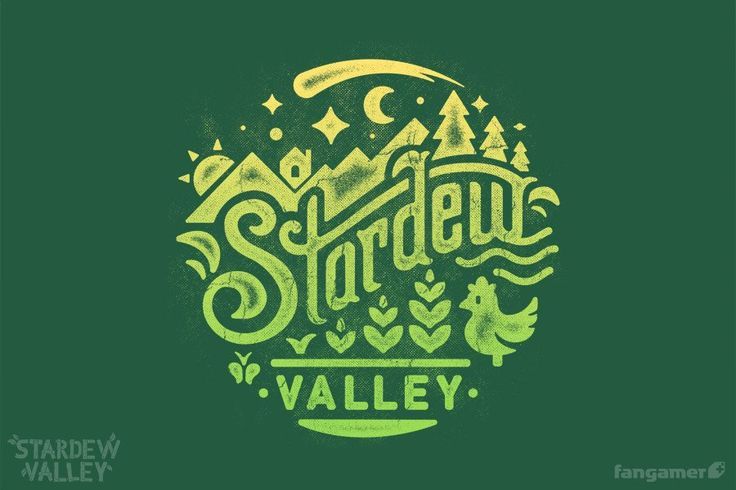 This official Stardew Valley t-shirt is the perfect attire for work or play, or…