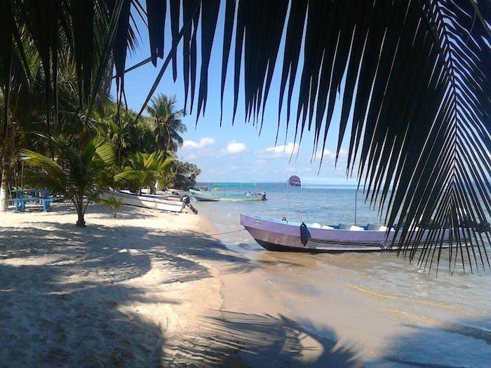 Playa Blanca Livingston, Izabal - foto por Ecliserio Chajon