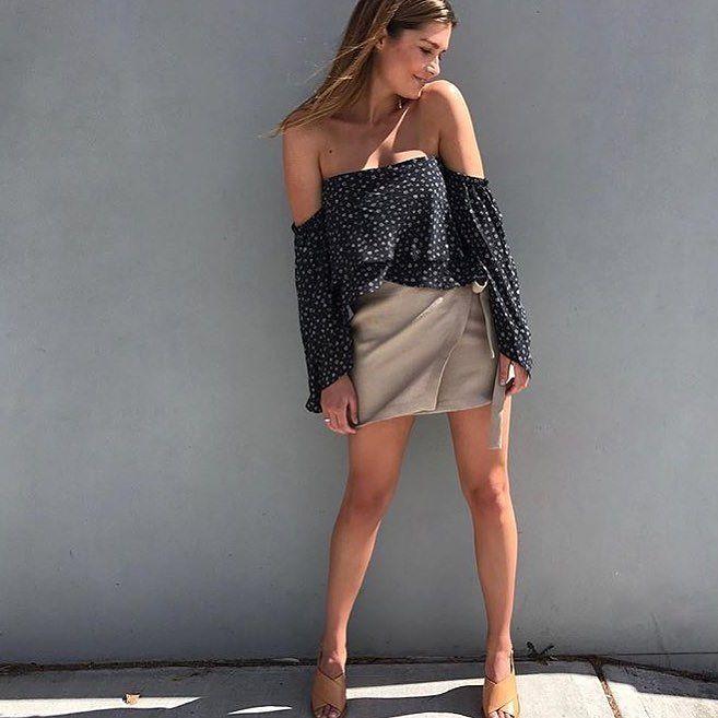 New  @aqwawomen wearing the @becandbridge Fleur Off Shoulder top  In store & online / Shop with @afterpay.it  #becandbridge #lookbook #lookbookboutique #newarrivals #newarrivals #justlanded #ootd #alburyboutique