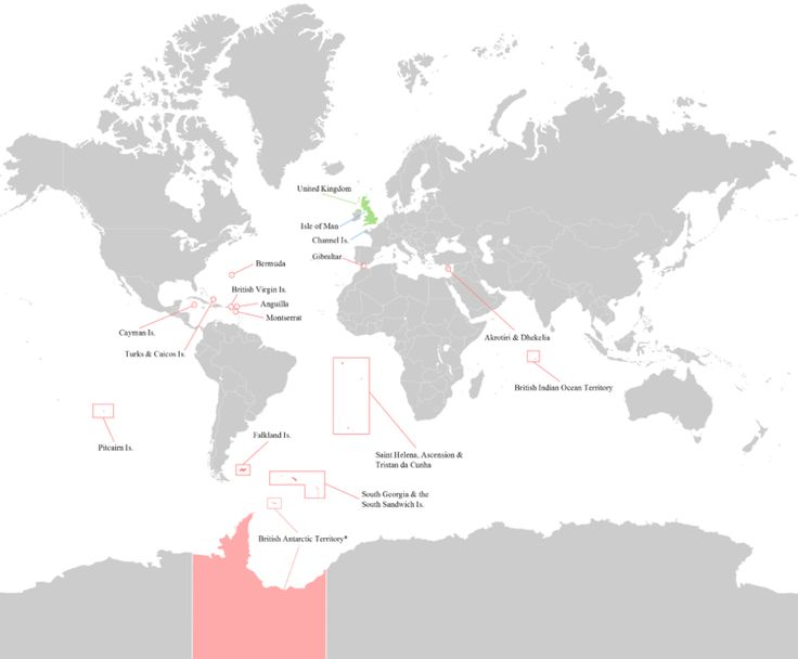 British Overseas Territories - Wikipedia