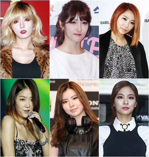 'Get it Beauty' Girl Groups' Eye Makeups