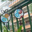 Tutores para plantas con mosaicos