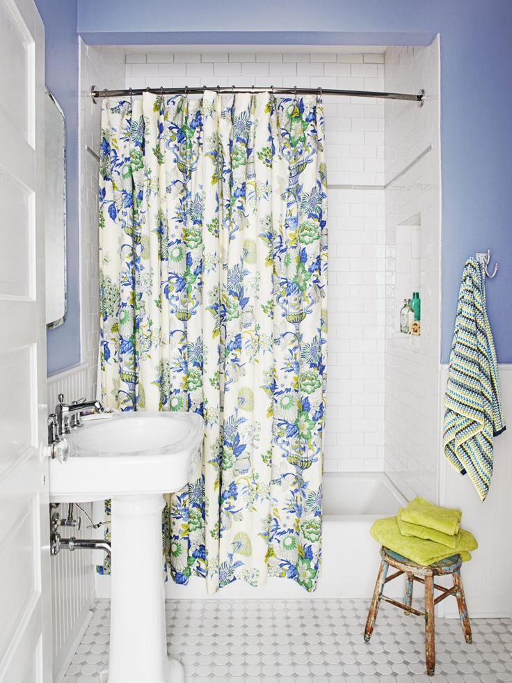 237 best the bath images on pinterest hand towels for Periwinkle bathroom ideas