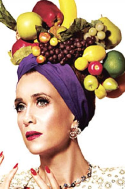 15e248fb359 A Fruit Hat Is A Festive And Colorful Hat Type Popularizedcarmen - Carmen  Miranda Fruit Hat