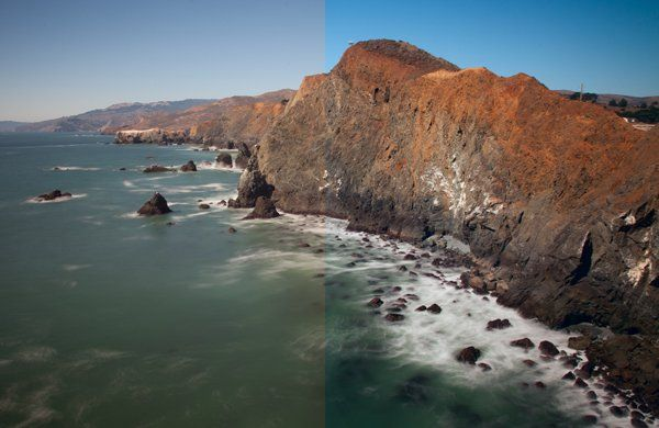 How yo Use LAB Color in Photoshop to Remove an Unwanted Color Cast by Jim Hamel at Digital Photography School (Photo: Marin County Headlands with LAB adjustments)