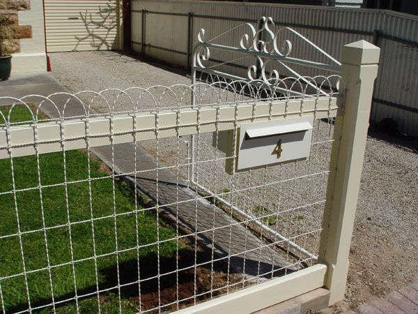 Supply and install woven wire (emu wire) heritage fence - Service