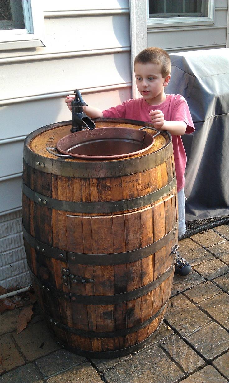 17 best images about whiskey barrel on pinterest game for Whiskey barrel bathtub