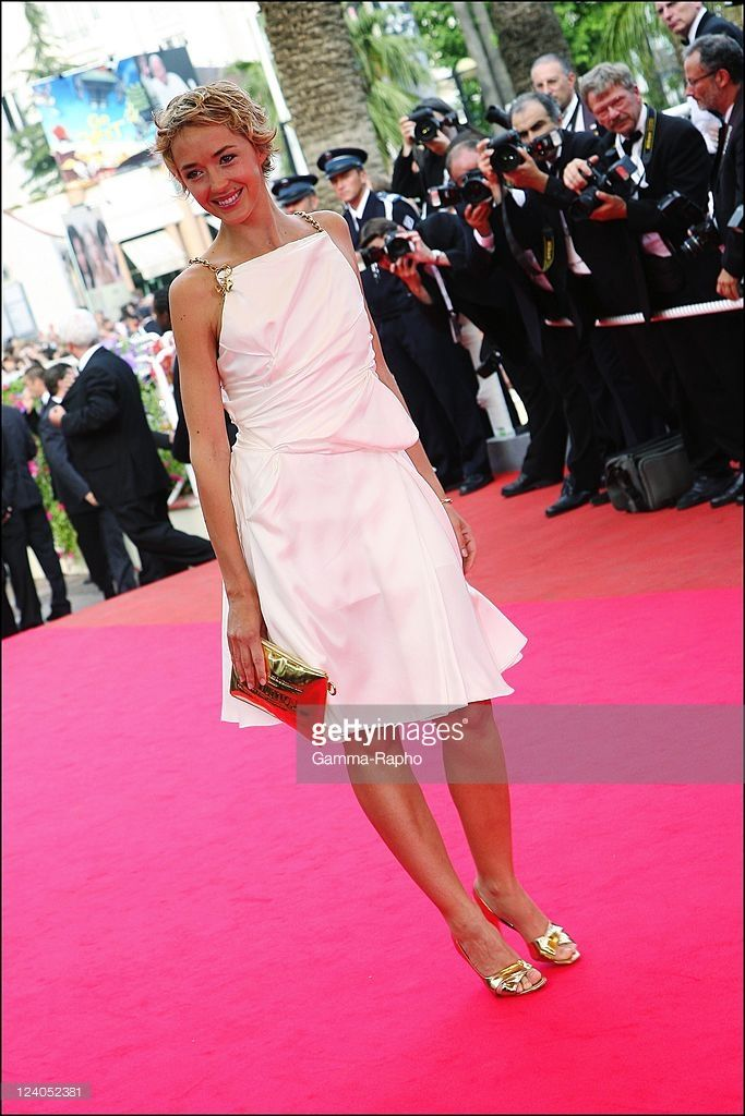 Stairs of 'De l'autre cote' at the 60th Cannes International Festival In Cannes, France On May 23, 2007- Helene de Fougerolles.