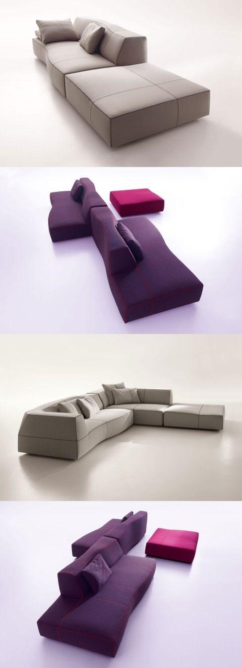 Patricia Urquiola Bend Sofa